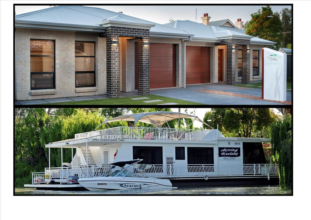 Renmark River Villas and Boats  Bedzzz - Stayed